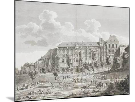 Vue du château de Blois--Mounted Giclee Print