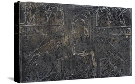 Vierge à l'Enfant avec anges--Stretched Canvas Print