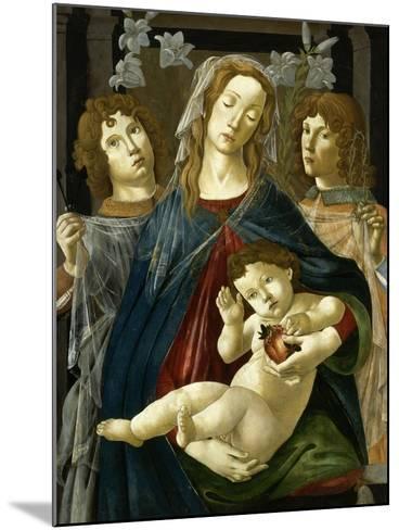 Vierge à l'Enfant à la grenade-Sandro Botticelli-Mounted Giclee Print