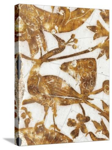 Panneau de rev?tement mural fragmentaire--Stretched Canvas Print
