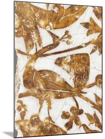 Panneau de rev?tement mural fragmentaire--Mounted Giclee Print