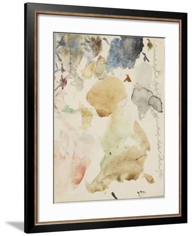 Palette d'aquarelle-Gustave Moreau-Framed Art Print