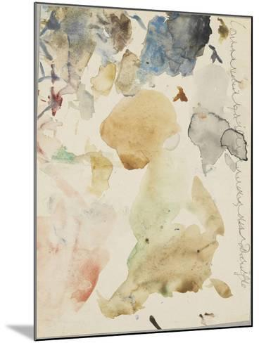 Palette d'aquarelle-Gustave Moreau-Mounted Giclee Print