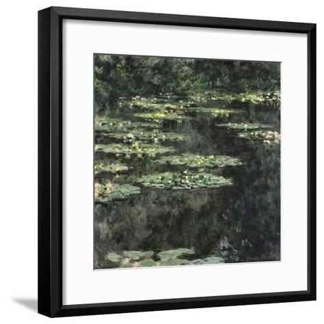 Nymphéas-Claude Monet-Framed Art Print