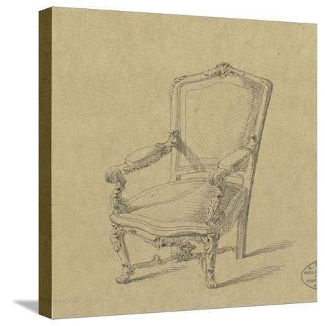 Projet de fauteuils-Antoine Zoegger-Stretched Canvas Print