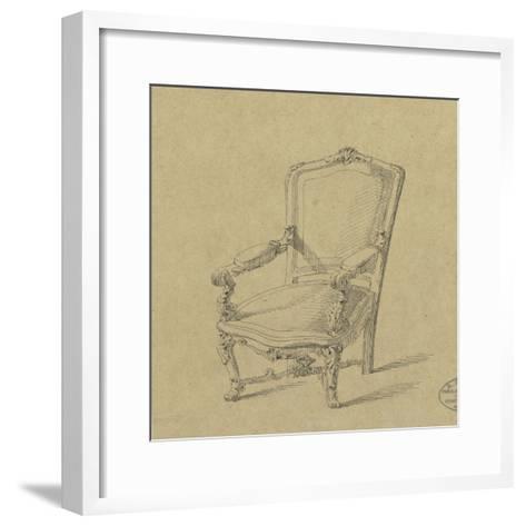 Projet de fauteuils-Antoine Zoegger-Framed Art Print
