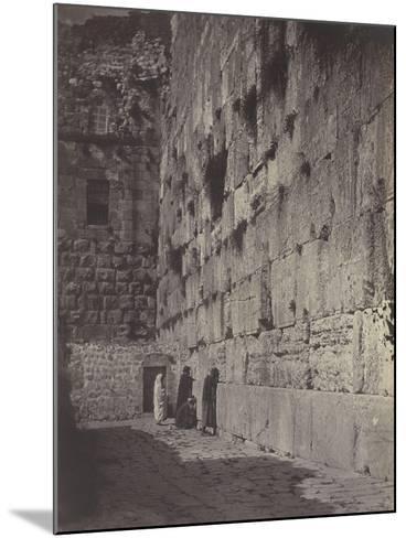 Wailing Place of Jérusalem-James Robertson-Mounted Giclee Print
