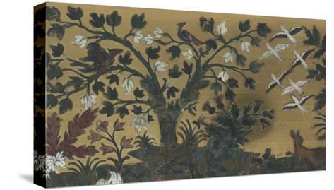 """Bureau-secrétaire à abattant et à gradin amovible dit """"de Diane et Apollon""""--Stretched Canvas Print"""