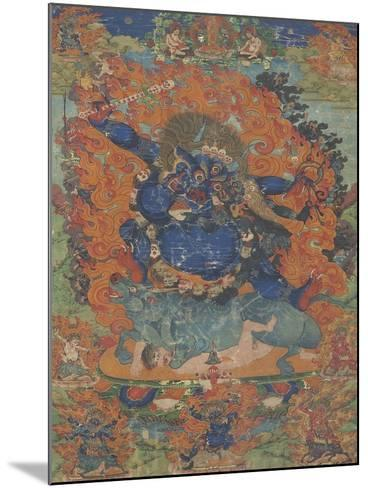 Yama, sous son aspect Las-gshin dpa'-gcig--Mounted Giclee Print