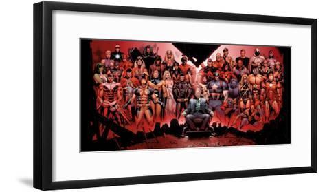 House of M: Professor X-Olivier Coipel-Framed Art Print