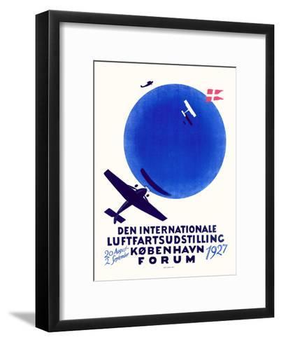 Den Internationale Luftfartsudstilling--Framed Art Print