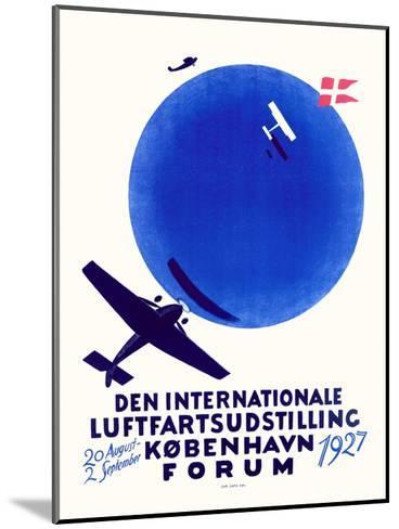Den Internationale Luftfartsudstilling--Mounted Giclee Print