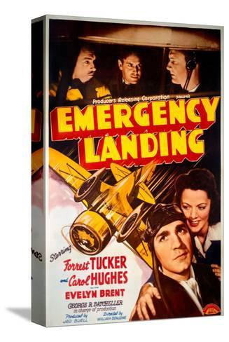 Forrest Tucker Emergency Landing Poster--Stretched Canvas Print