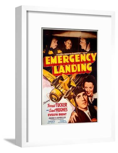 Forrest Tucker Emergency Landing Poster--Framed Art Print