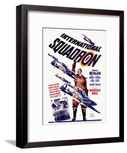 Ronald Reagan Squadron Movie Poster--Framed Art Print