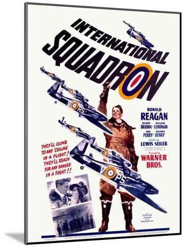 Ronald Reagan Squadron Movie Poster--Mounted Giclee Print