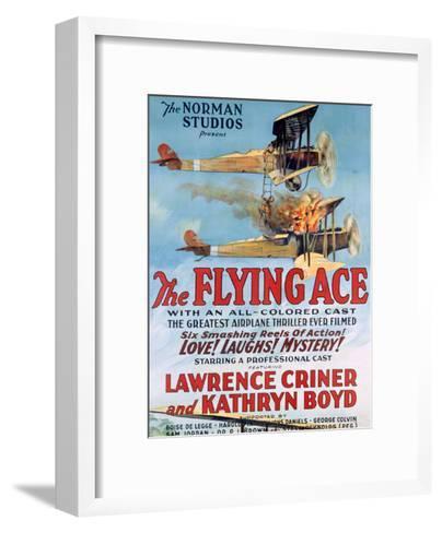 The Flying Ace Movie Poster--Framed Art Print