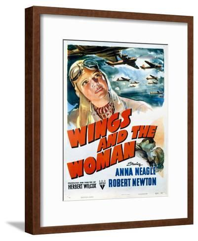 Wings and the Woman Movie Poster--Framed Art Print
