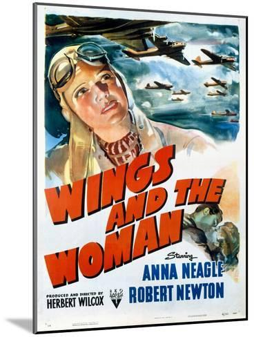 Wings and the Woman Movie Poster--Mounted Giclee Print