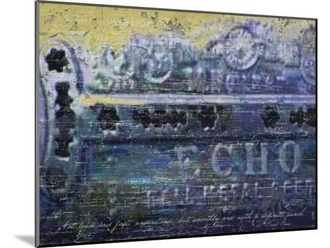 Blues Harp Vintage Harmonica-Lisa Weedn-Mounted Giclee Print