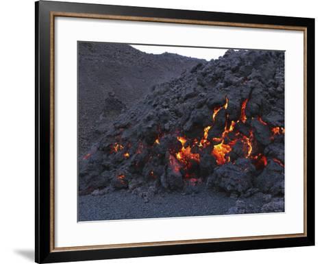 FimmvördUHals Lava Flow, Eyjafjallajökull, Iceland--Framed Art Print