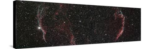 Veil Nebula Mosaic--Stretched Canvas Print