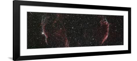 Veil Nebula Mosaic--Framed Art Print