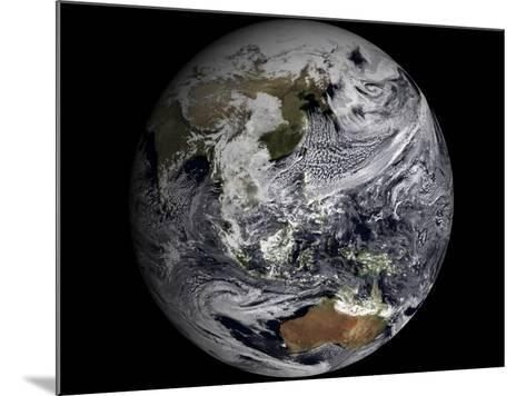 January 2, 2009 - Cloud Simulation of the Full Earth--Mounted Photographic Print