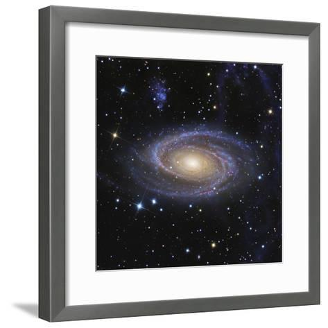 Messier 81, or Bode's Galaxy, is a Spiral Galaxy Located in the Constellation Ursa Major--Framed Art Print