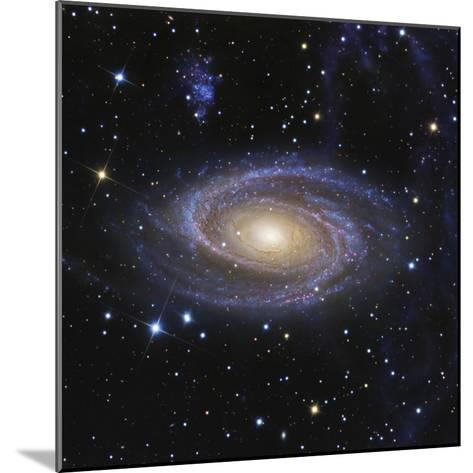 Messier 81, or Bode's Galaxy, is a Spiral Galaxy Located in the Constellation Ursa Major--Mounted Photographic Print