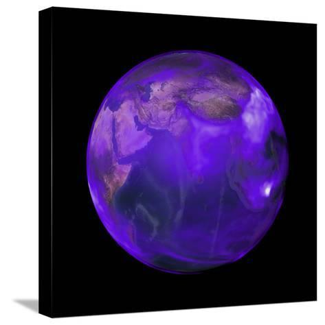 Black Carbon, a Short-Lived Particle, is in Perpetual Motion across the Globe--Stretched Canvas Print