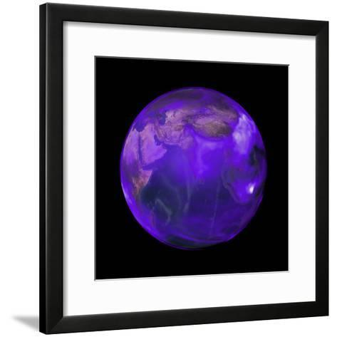Black Carbon, a Short-Lived Particle, is in Perpetual Motion across the Globe--Framed Art Print
