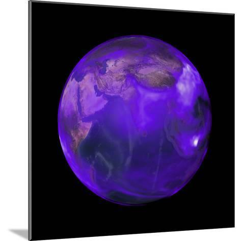 Black Carbon, a Short-Lived Particle, is in Perpetual Motion across the Globe--Mounted Photographic Print