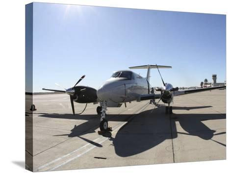 A Uc-12F King Air Aircraft--Stretched Canvas Print