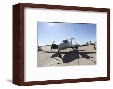 A Uc-12F King Air Aircraft--Framed Art Print