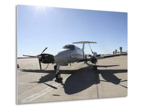 A Uc-12F King Air Aircraft--Metal Print