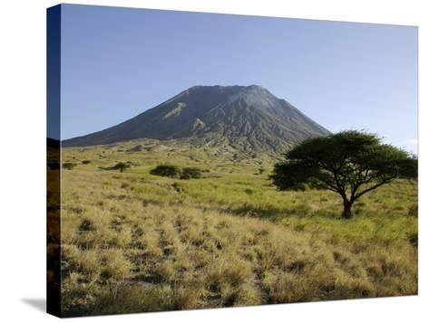 Ol Doinyo Lengai, Rift Valley, Tanzania--Stretched Canvas Print