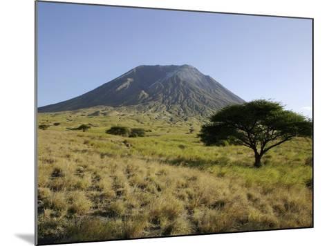Ol Doinyo Lengai, Rift Valley, Tanzania--Mounted Photographic Print