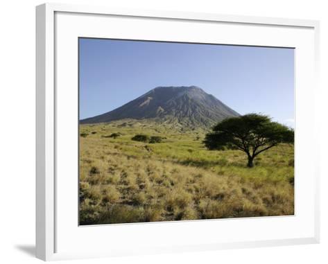 Ol Doinyo Lengai, Rift Valley, Tanzania--Framed Art Print