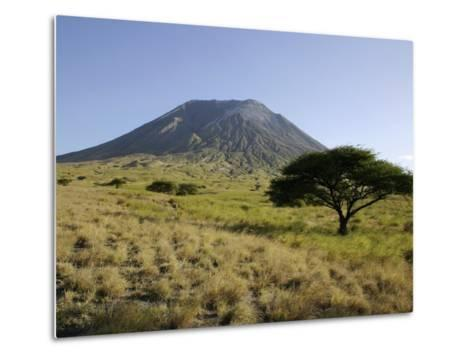 Ol Doinyo Lengai, Rift Valley, Tanzania--Metal Print
