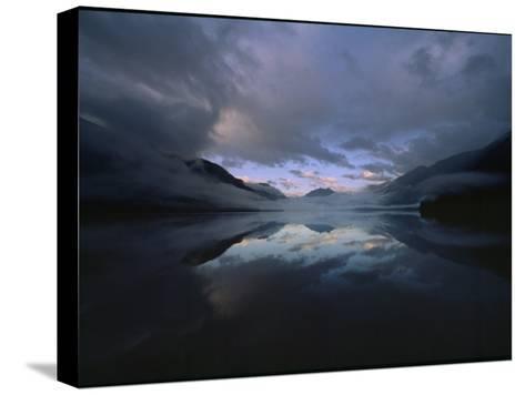 Sunset at Lake Crescent, Olympic National Park, Washington-James P^ Blair-Stretched Canvas Print