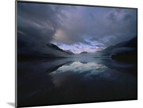 Sunset at Lake Crescent, Olympic National Park, Washington-James P^ Blair-Mounted Photographic Print