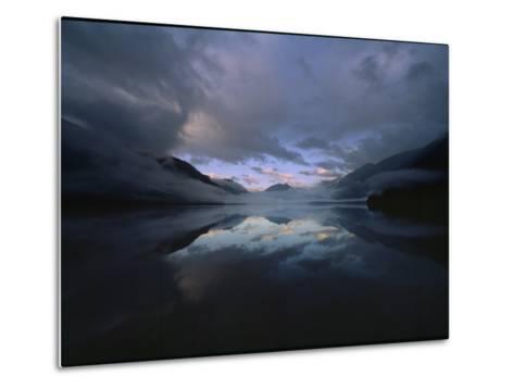 Sunset at Lake Crescent, Olympic National Park, Washington-James P^ Blair-Metal Print