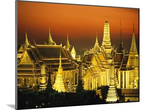 Grand Palace and Temple of the Emerald Buddha, Wat Phra Kaeo-Paul Chesley-Mounted Photographic Print