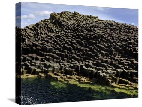 Basalt Columns Near Fingal's Cave on the Isle of Staffa-Jim Richardson-Stretched Canvas Print