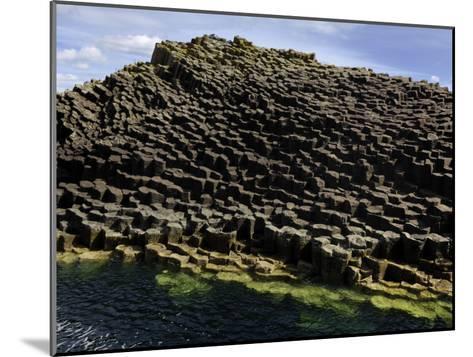 Basalt Columns Near Fingal's Cave on the Isle of Staffa-Jim Richardson-Mounted Photographic Print