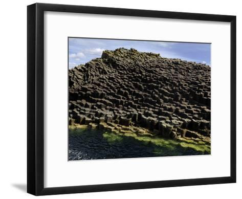 Basalt Columns Near Fingal's Cave on the Isle of Staffa-Jim Richardson-Framed Art Print