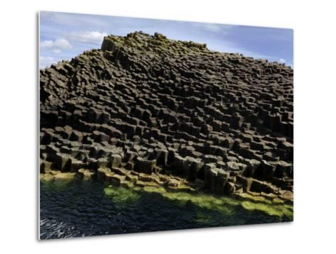 Basalt Columns Near Fingal's Cave on the Isle of Staffa-Jim Richardson-Metal Print