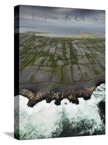 Aerial View of the Rugged Aran Islands-Jim Richardson-Stretched Canvas Print