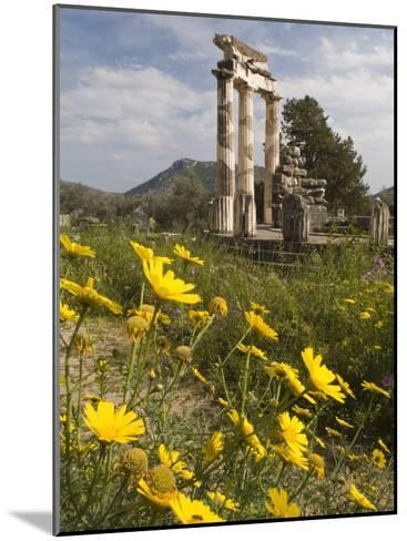 The Tholos Temple in the Sanctuary of Athena Pronaia And-Richard Nowitz-Mounted Photographic Print